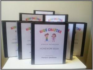 Kids Chatter Homework Folders