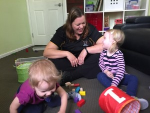 Late talker speech therapy session Kids Chatter Speech Pathology