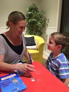 Speech pathology assessments for children