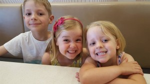 Lucas, Alyssa and Scarlett Speakman Kids Chatter Speech Pathology
