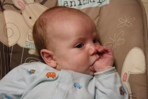 Baby thumb sucking Kids Chatter Speech Pathology