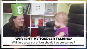 Why isn't my toddler talking? Will they grow out of it or should I be concerned?
