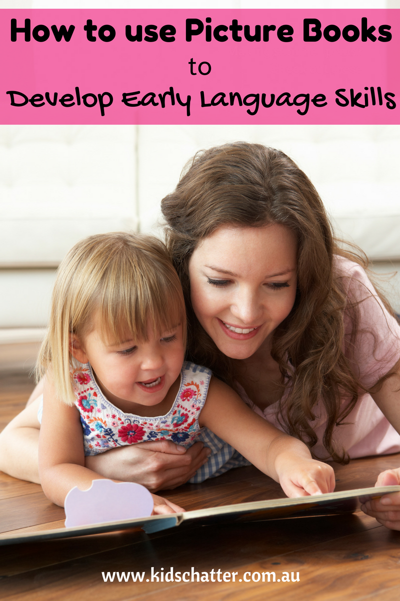 How to read picture books for early language development mum and toddler reading
