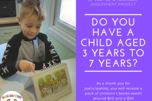 Be Part of a Research Project for Kids Aged 3 to 7 years